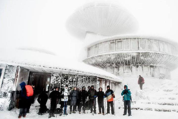 Orkan Aleksandra na Śnieżce