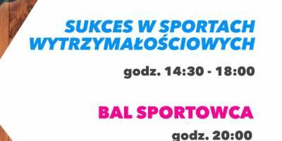 Konferencja: Sukces w sportach wytrzymałościowych i Bal Sportowca