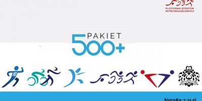 Pakiet 500+ z PSW